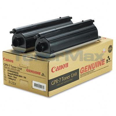 CANON GPR-7 TONER BLACK